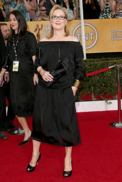¿Qué estaba pensadon Meryl Streep cuando eligió este vestido de Stella M...