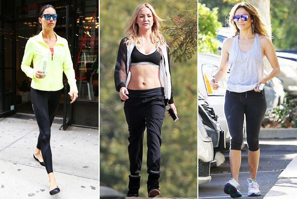 Looks sportyTe traemos los 'looks sporty' de las famosas para que conozc...