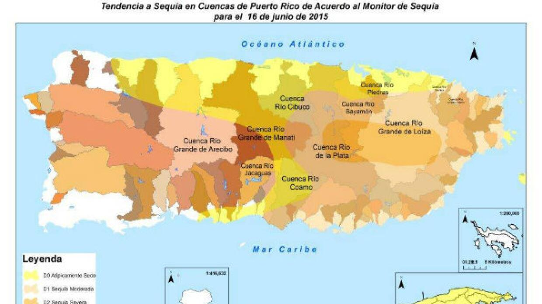 La isla sufre su peor sequía en la historia.
