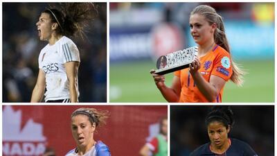 Una mexicana y una costarricense hacen parte de las mejores futbolistas del 2017