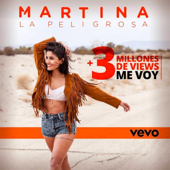 """Su nueva canción """"Me voy"""", de ritmo rockero, caribeño e inclus..."""