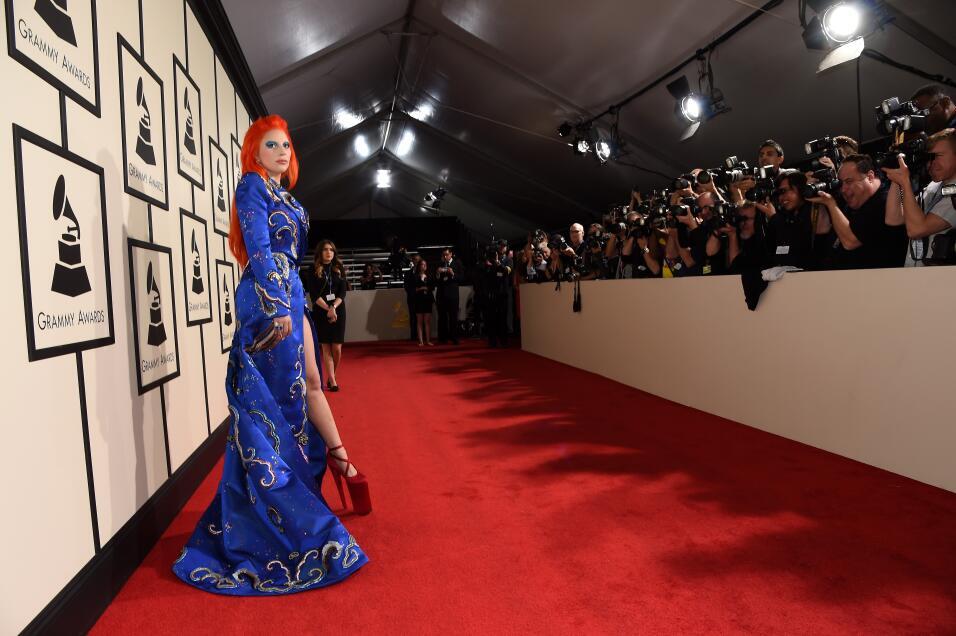 El vestido de Sofía Vergara en los Grammy pesaba más de 20 libras GettyI...