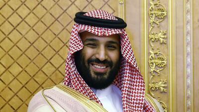 Foto tomada el 23 de julio del 2017 del príncipe saudí Mohamed bin Salma...