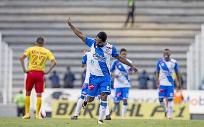 Angulo, celebrando el 1-0 transitorio.