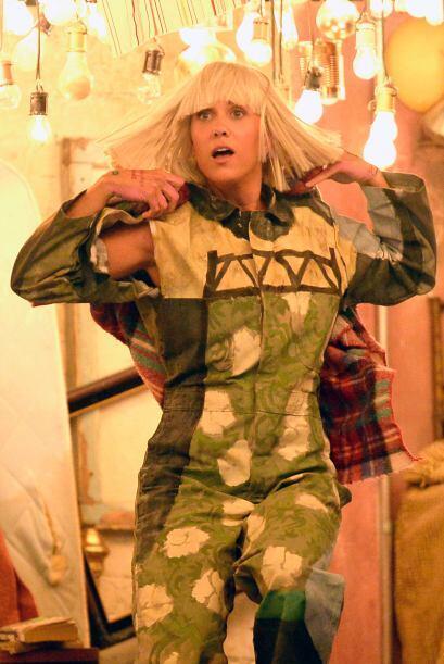 Una de las actuaciones más polémicas de la noche fue la de Sia.