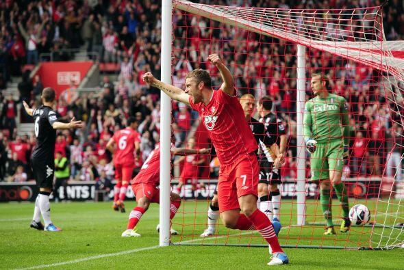 Jose Fonte abrió el marcador en favor del equipo de casa.