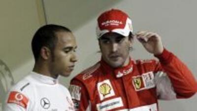 Alonso y Hamilton buscan recuperar terreno en el campeonato en el GP de...
