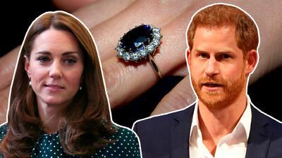 La razón por la que Harry le cedió a Kate Middleton el anillo de Lady Di que pudo haber sido para Meghan Markle