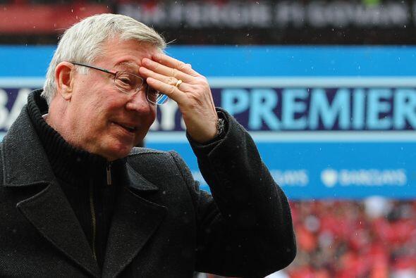 La emoción alcanzaba a 'Fergie'.
