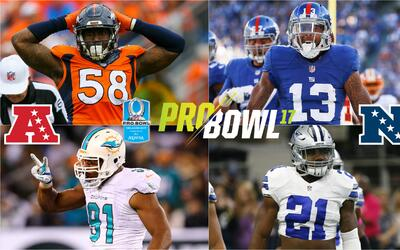 Rosters Pro Bowl 2017