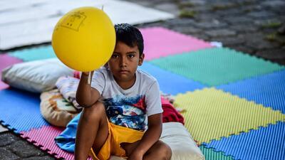 Fotos: Así es la vida de los pobladores de Oaxaca que perdieron sus viviendas tras el terremoto