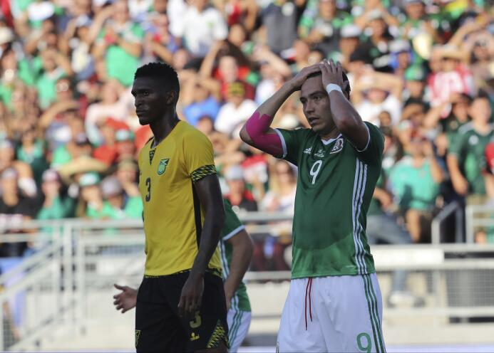 Seleccionados mexicanos vs. Jamaica