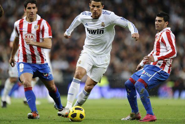 La fecha 10 de la Liga española se engalanó con el 'derby'...