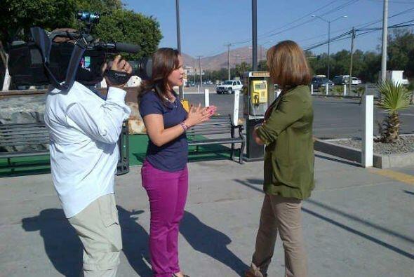 María Elena Salinas en entrevista con Carolina Bustamante, primer...