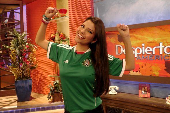 Ana estaba muy confiada del triunfo de México.