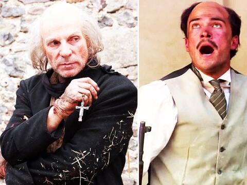 Estos actores nos dejaron con la boca abierta al interpretar a personaje...