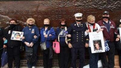 Familiares de las víctimas que no fueron identificadas se manifestaron e...
