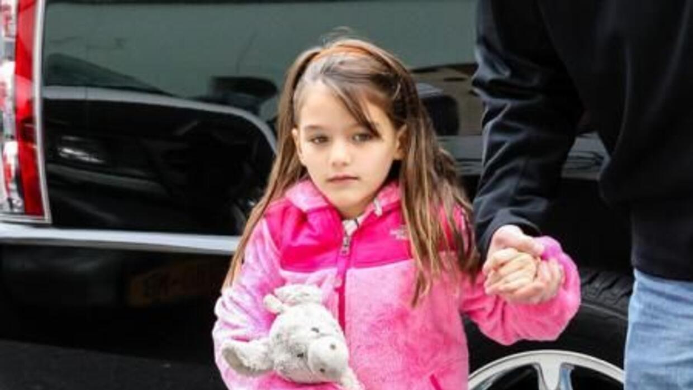 La pequeña Suri Cruise (8), hija de Tom Cruise y Katie Holmes, se encuen...