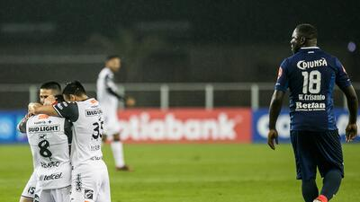 Con gol de Ignacio Rivero, Xolos le ganó a Motagua en la Liga de Campeones