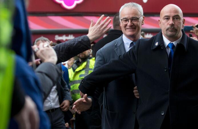 Continúan los festejos del Leicester City