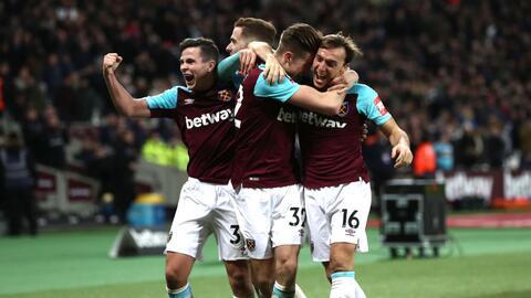 Reece Burke le dio el triunfo al West Ham