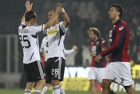 Por último, tuvimos el partido donde el Cesena ganó con el doblete de Ad...