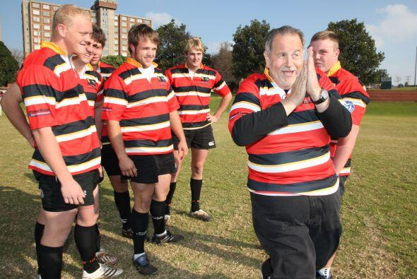 ¿Qué estará planeando nuestro Gordito para este partido de rugby?