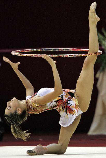 La ex gimnasta española Almudena Cid participó en cuatro Juegos Olímpico...