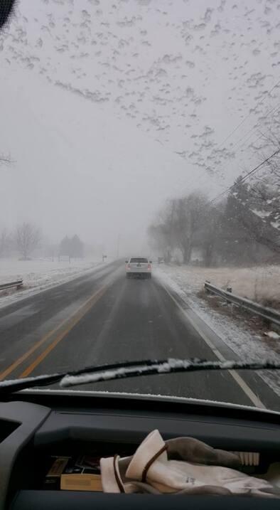 Usuarios de Univision Chicago comparten fotos de la tormenta de nieve en...