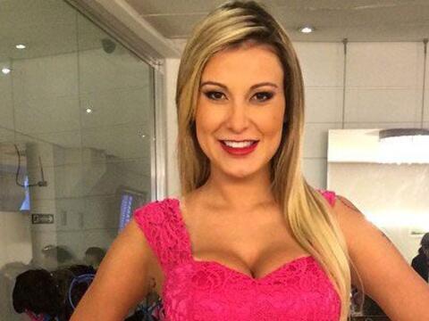 Andressa Urach es una reina de belleza que ganó el segundo lugar...