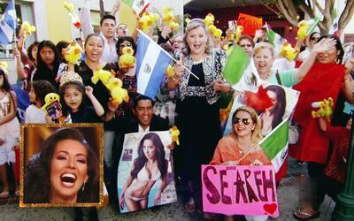 Los fans de Setareh alborotaron las calles