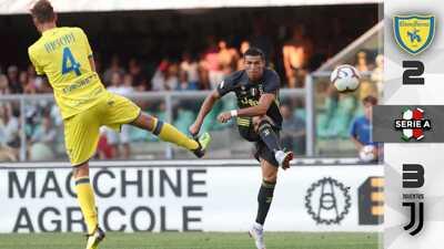 Cristiano Ronaldo se sale con la suya y debuta con triunfo en la Juventus
