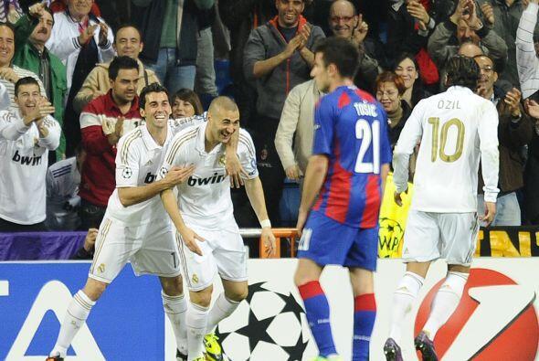 Y sí hubo más goles para los blancos, ahora gracias a Karim Benzema.