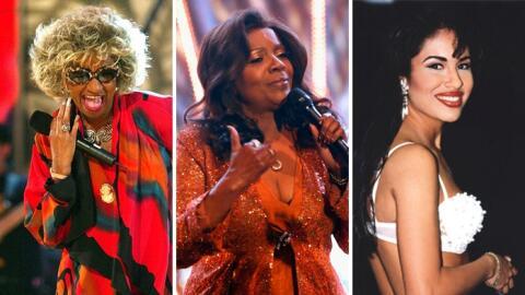 Celia Cruz, Gloria Gaynor y Selena Quintanilla