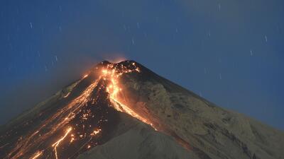 En fotos: La erupción del 'volcán de fuego' en Guatemala