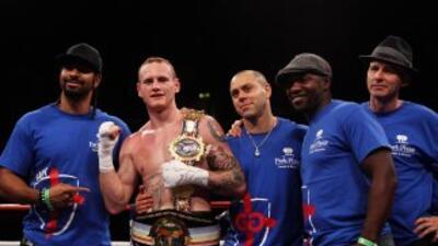 Ricky Burns conquistó el cinturón interino ligero de la OMB.
