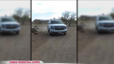Circula video donde agente de la Patrulla Fronteriza atropella a un hombre