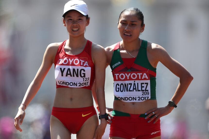La mexicana Lupita González volvió a ser medalla de plata en los 20 kiló...