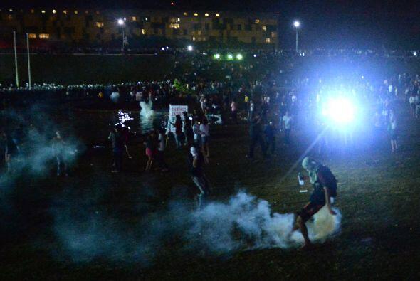 Los manifestantes también consideraron como un éxito suyo la orden de pr...