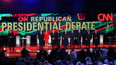 Lincoln Diaz-Balart: El Debate de Las Vegas GettyImages-GOP-Debate-Panor...