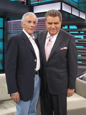 Al show también llega el legendario actor Julio Alemán,