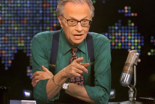 El veterano presentador de la cadena estadounidense de noticias CNN, Lar...