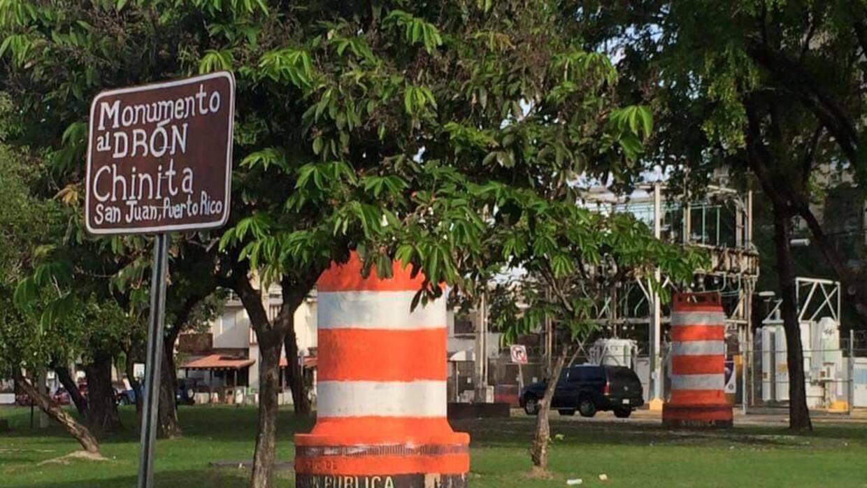 Monumento al Dron Chinita en San Juan