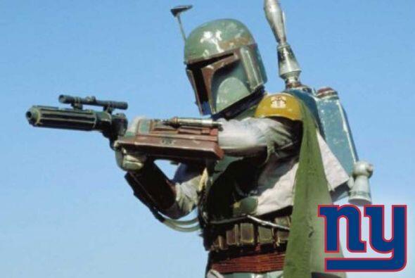 Pick 9. New York Giants -- Boba Fett.