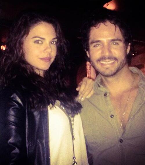 Livia Brito y José Ron