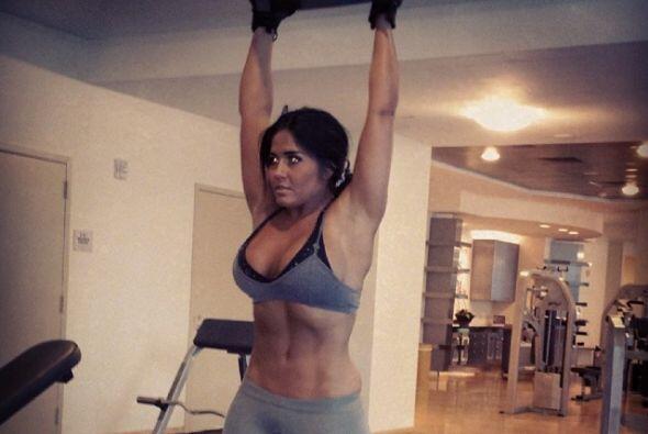 La modelo se levanta todos los días muy temprano a entrenar. Todos sobre...