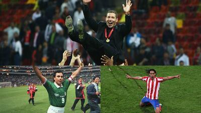 Latinos que han brillado con el Atlético en los 50 años del Vicente Calderón