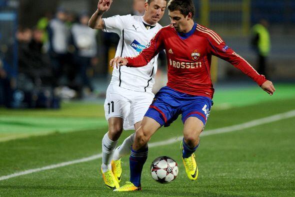 Finalmente, el CSKA Moscú pasó algunos apuros pero superó al Viktoria Pl...