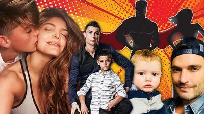 Padres solteros: famosos que se convirtieron en papá y mamá a la misma vez