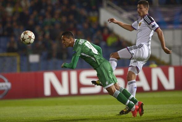 Ludogorets venció por 1-0 al Basilea con gol de Minev en el &uacu...